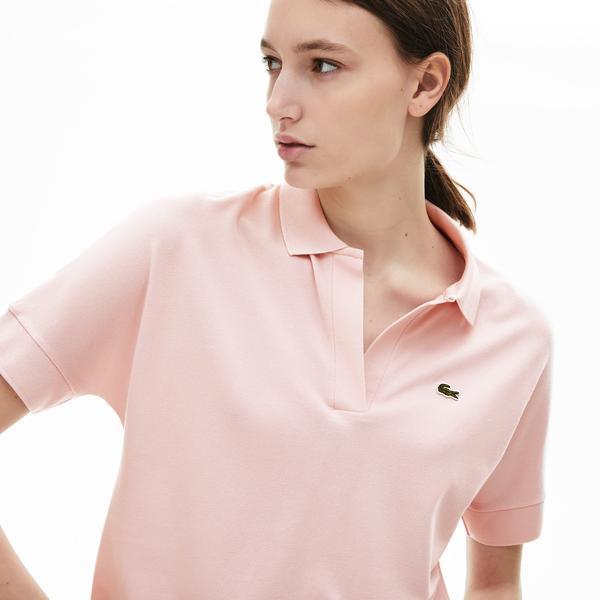 Lacoste Damska Koszulka Polo Z Lejącej Piki
