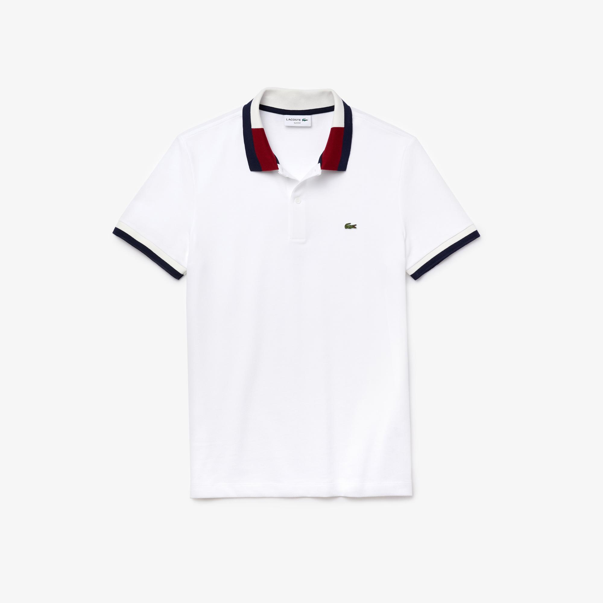 Lacoste Męska Kontrastowa Koszulka Polo