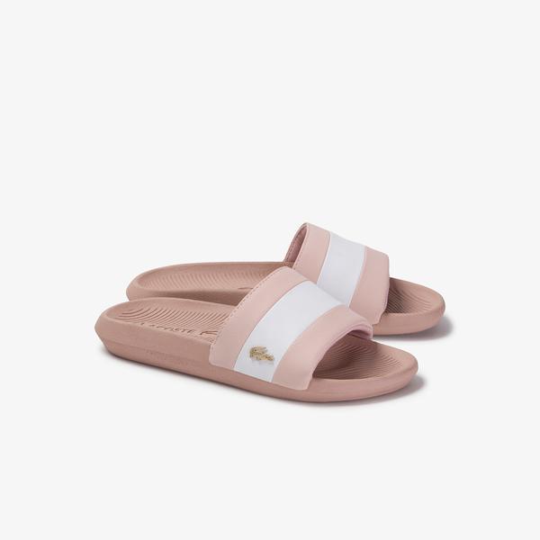 Lacoste Women's Croco Slide 120 3 Us Cfa Slippers