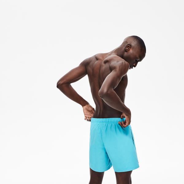 Lacoste Men's Light Quick-Dry Swim Shorts