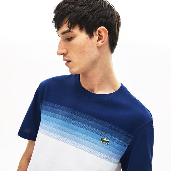 Lacoste Men's Made İn France Cotton Piqué Cotton Crew Neck T-Shirt