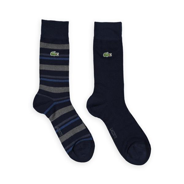 Lacoste Unisex  Striped Socks