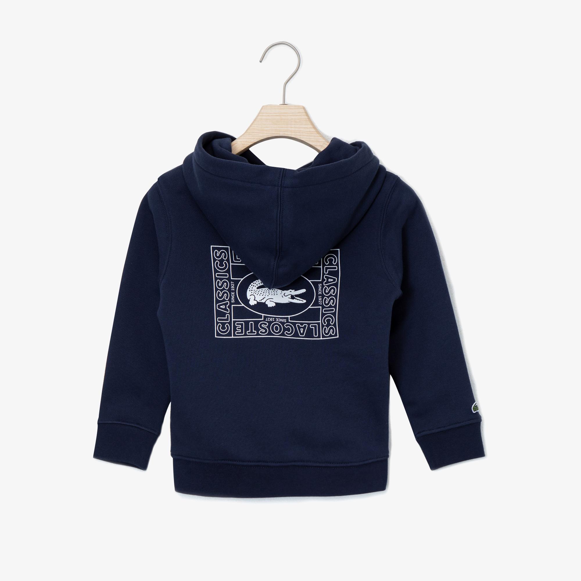 Lacoste Sweter Dziecięcy Z Kapturem