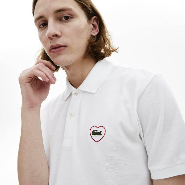 Lacoste Unisex L.12.12 Merci Polo in cotton piqué