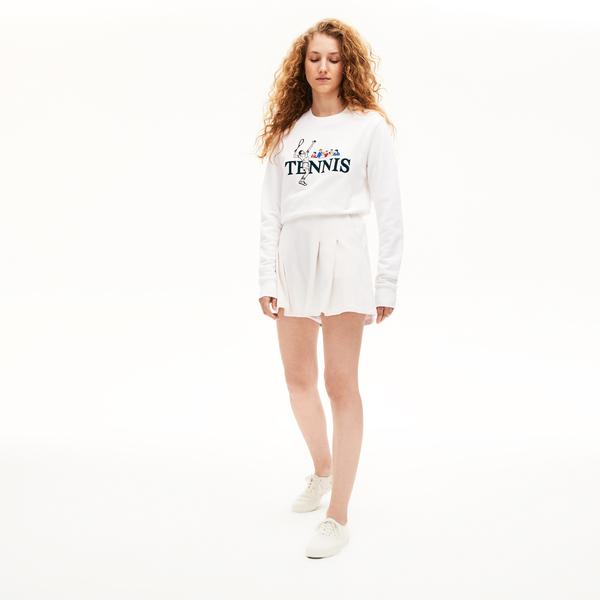 Lacoste Unisex LIVE Tennis Design Sweatshirt