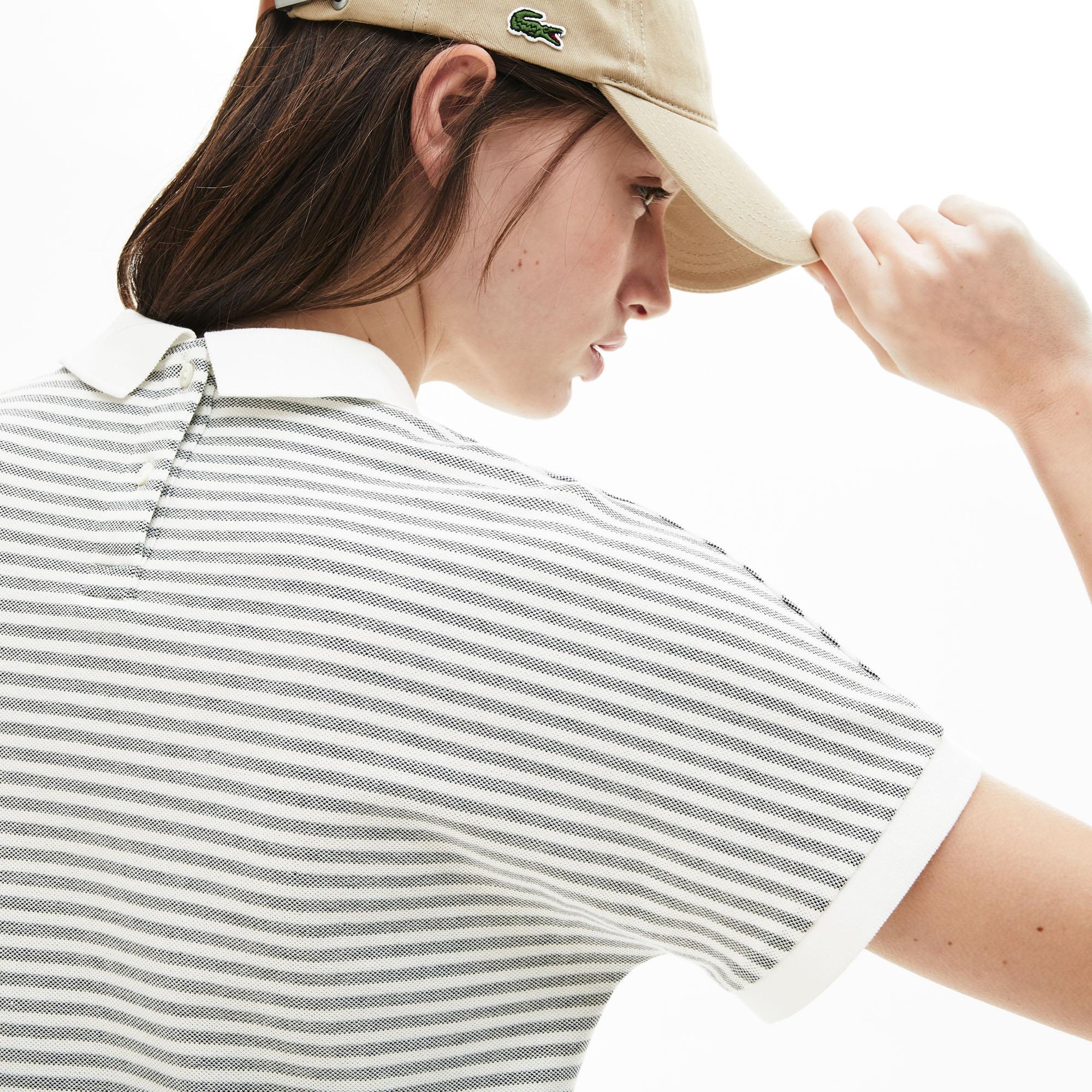 Lacoste Damska Koszulka Polo W Paski