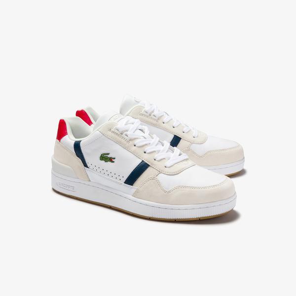 Lacoste Men's T-Clıp 0120 2 SMA Casual Shoes