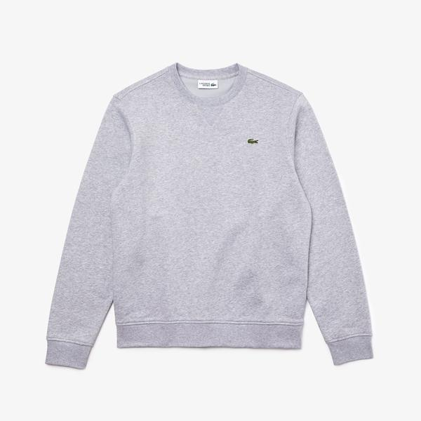 Lacoste Men's SPORT Cotton Blend Fleece Sweatshirt