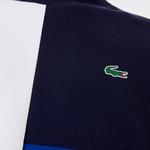 Lacoste Sport Męska Dwuwarstwowa Bluza Z Mieszanki Bawełny W Bloki Kolorystyczne