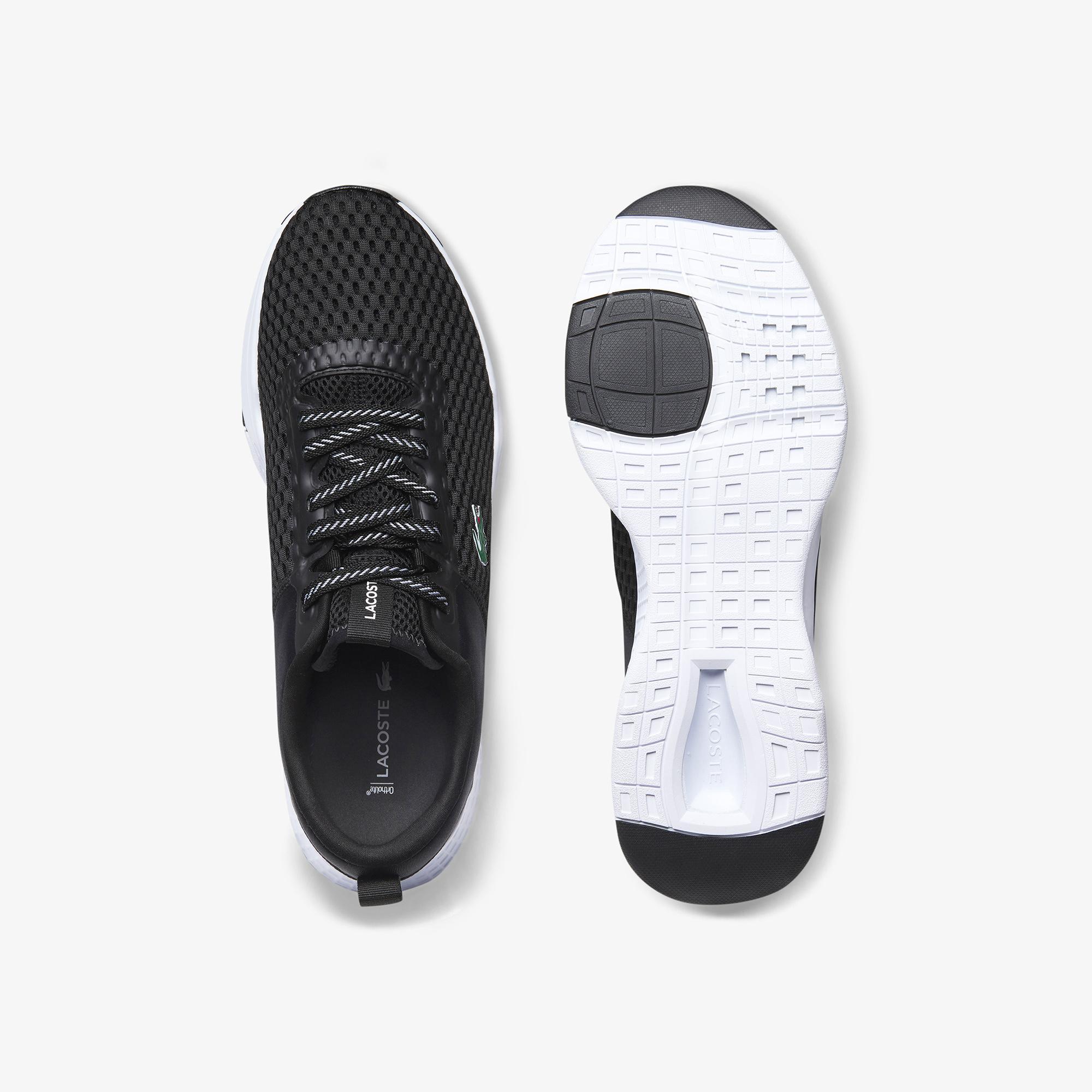 Lacoste Court-Drive 0120 1 Sma Erkek Siyah - Beyaz Sneaker
