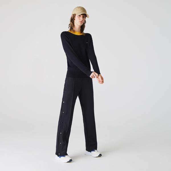 Lacoste Live Metal Croc Damski Lekki Sweter Typu Golf