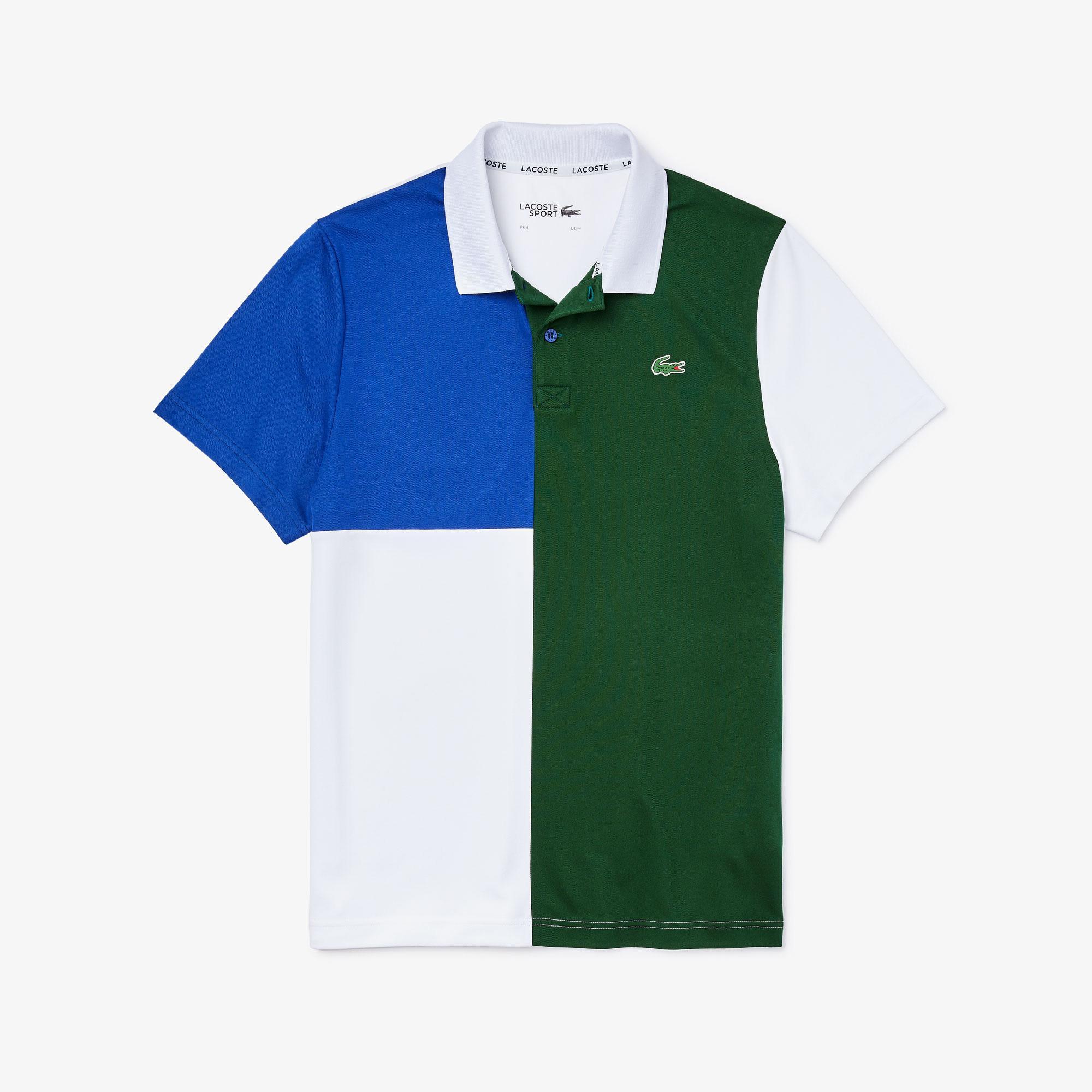 Lacoste Sport Męska Oddychająca Koszulka Polo Z Piki Technologia Świeżości