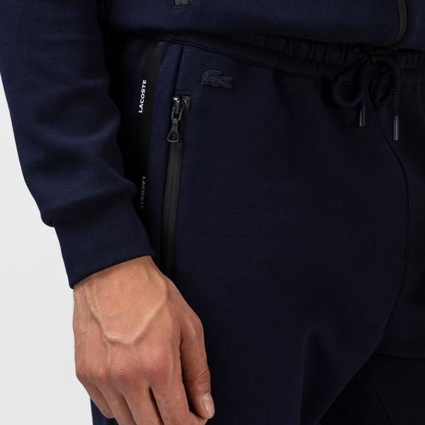 Lacoste Granatowe Spodnie Męskie