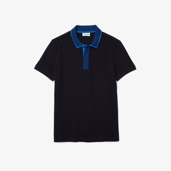Lacoste Męska Koszulka Polo Z Piki Bawełnianej Slim Fit