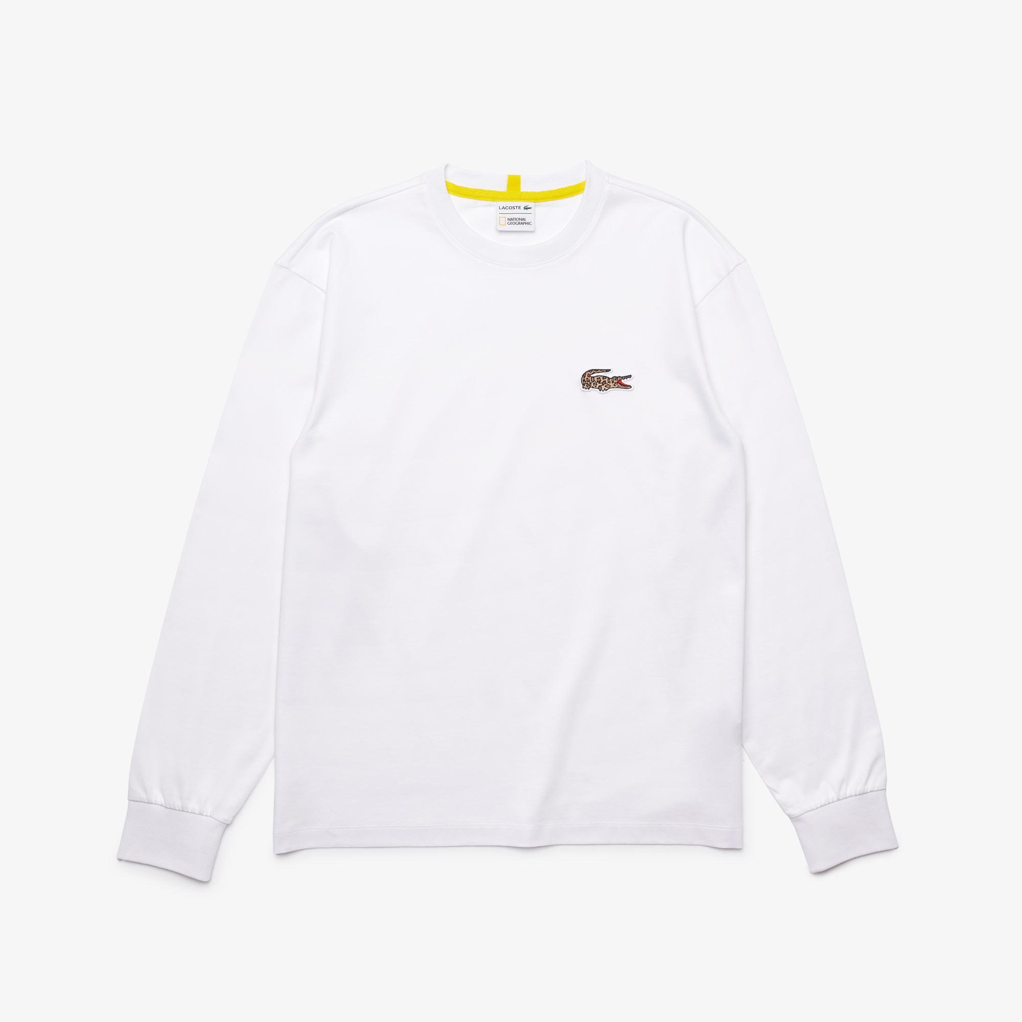 Lacoste X National Geographic Męski T-Shirt Bawełniany