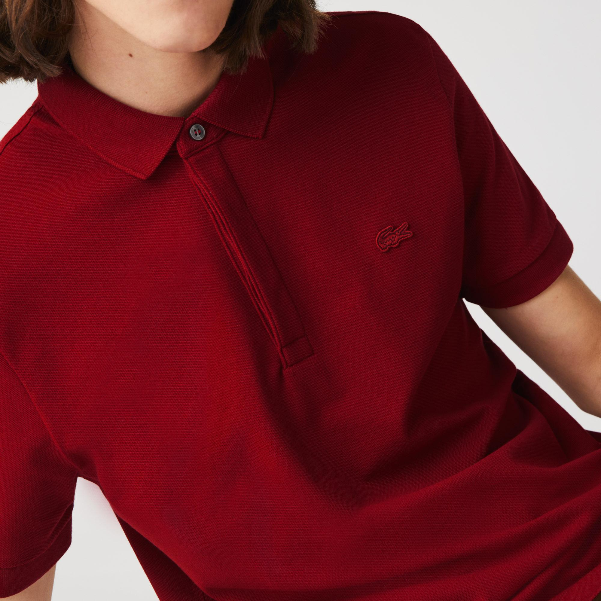 Lacoste Męska elastyczna koszulka polo Regular Fit w stylu paryskim z piki bawełnianej
