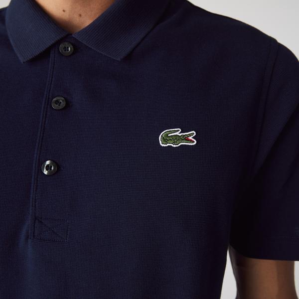 Lacoste Męska sportowa koszulka polo Regular Fit do gry w tenisa z ultralekkiej dzianiny