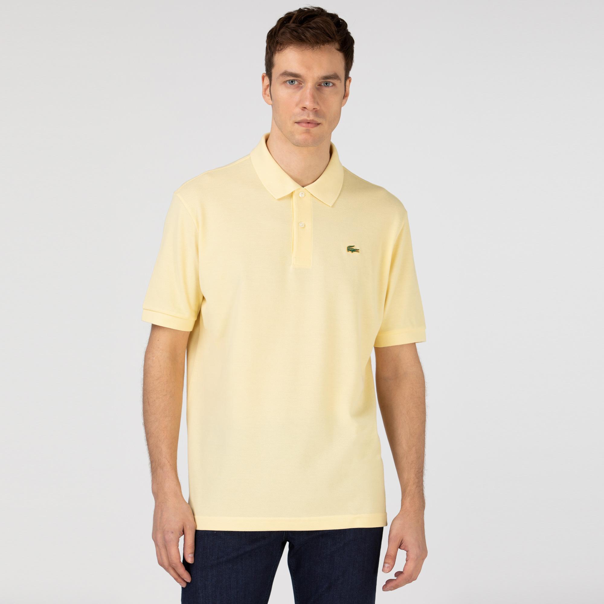 Lacoste L!VE Koszulka polo Loose Fit unisex z piki bawełnianej