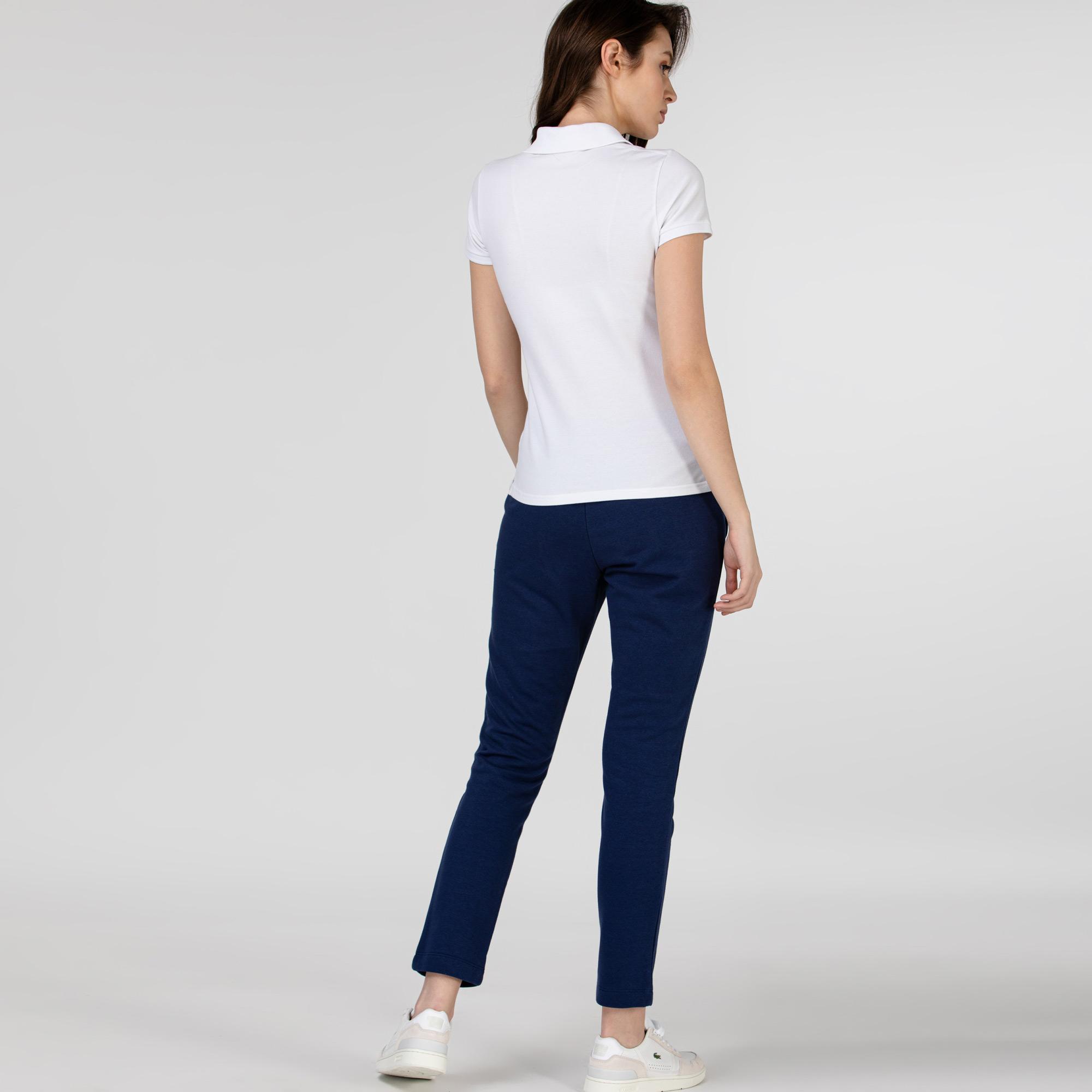 Damskie szare spodnie dresowe Lacoste