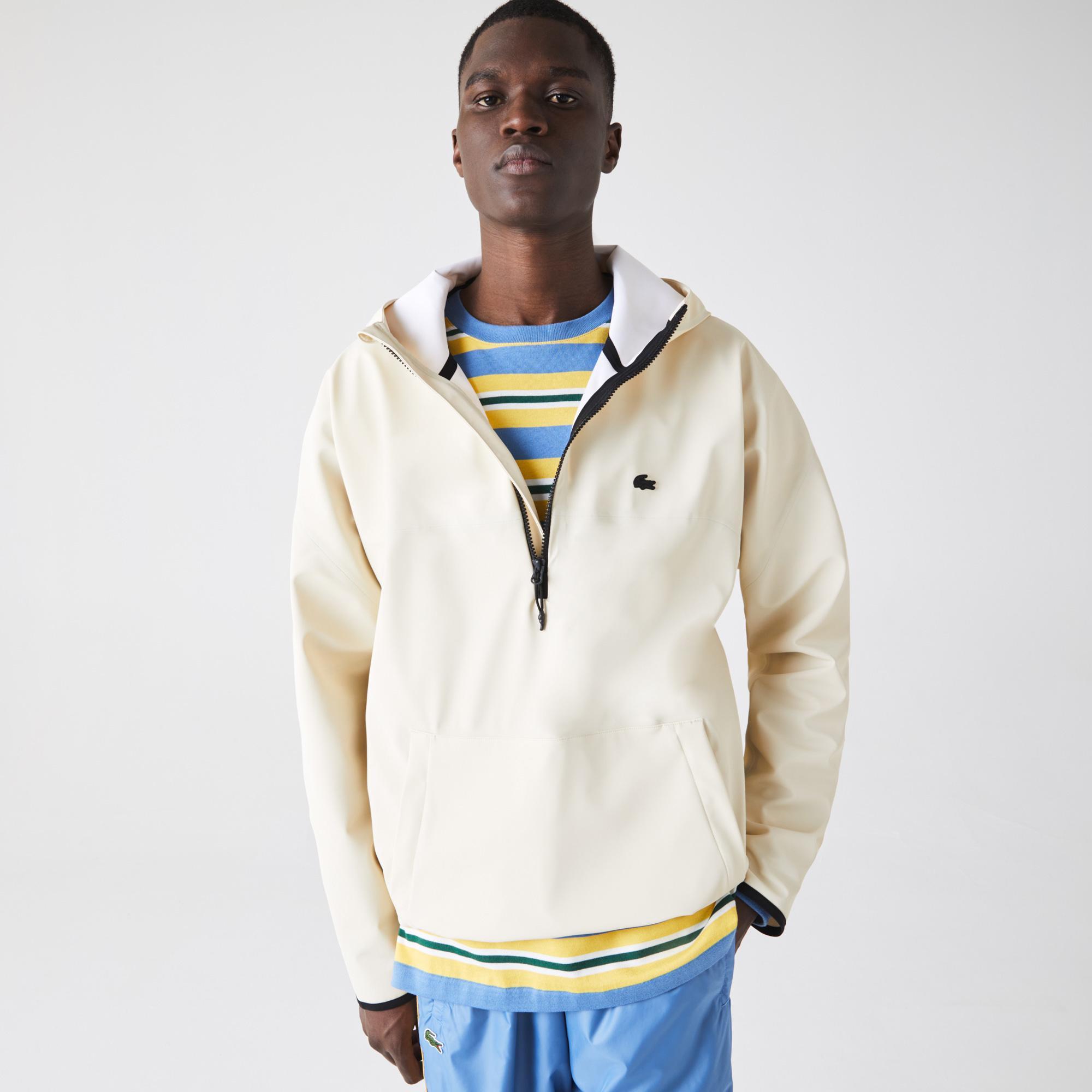 Lacoste Męska lekka bluza-pulower z kapturem