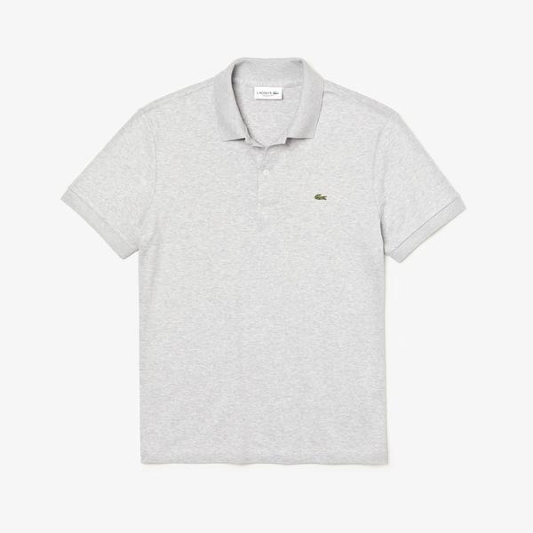 Lacoste Męska koszulka polo Regular Fit z bawełny Pima