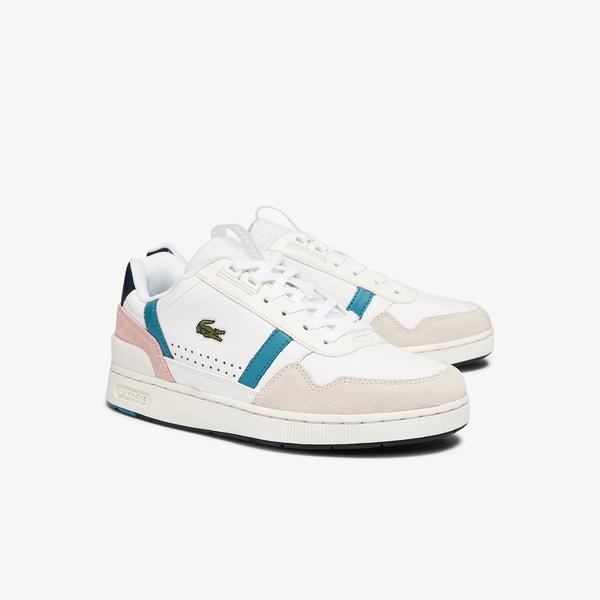Lacoste Damskie buty T-Clıp 0921 1 Sfa