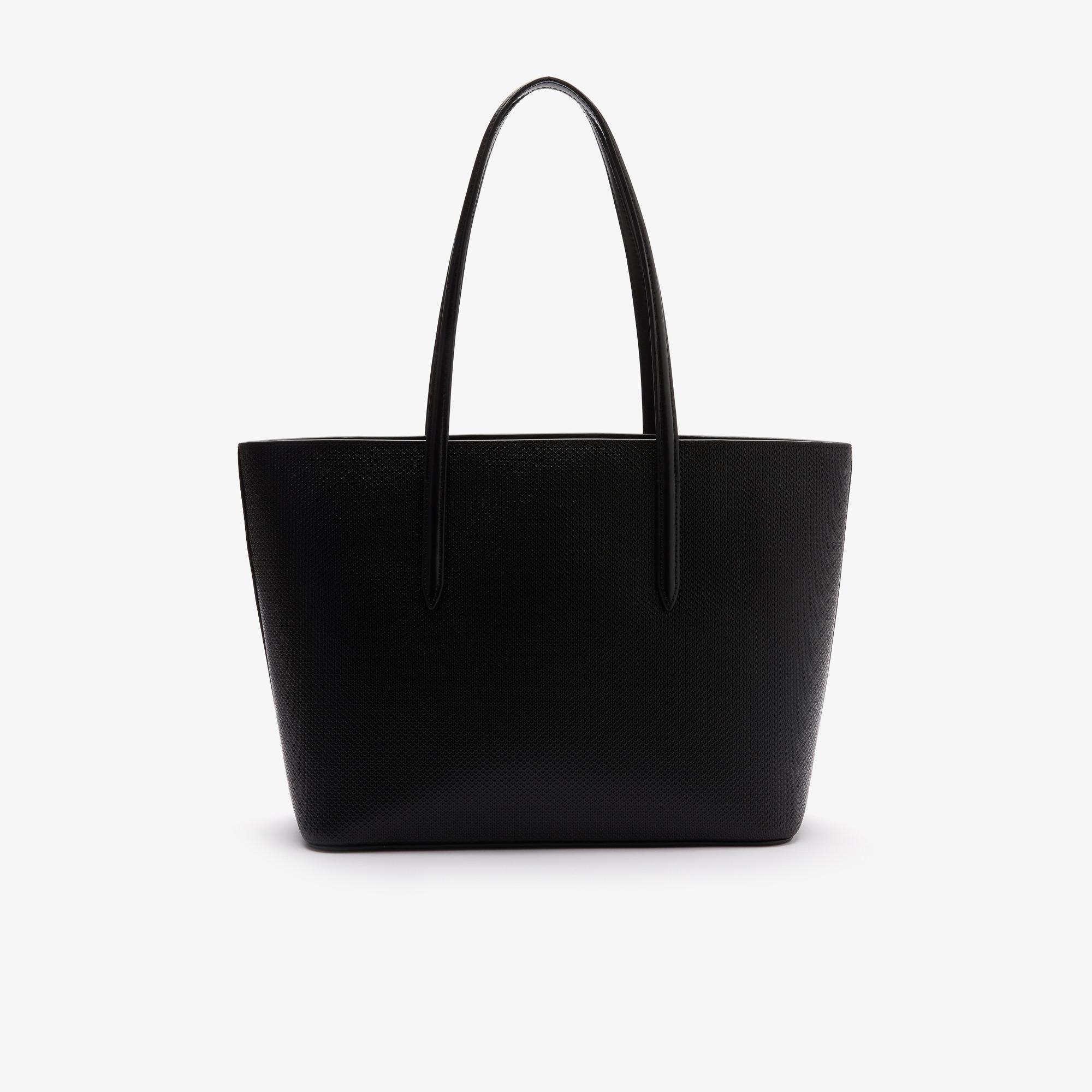 Lacoste  Women's Chantaco Piqué Leather Tote Bag