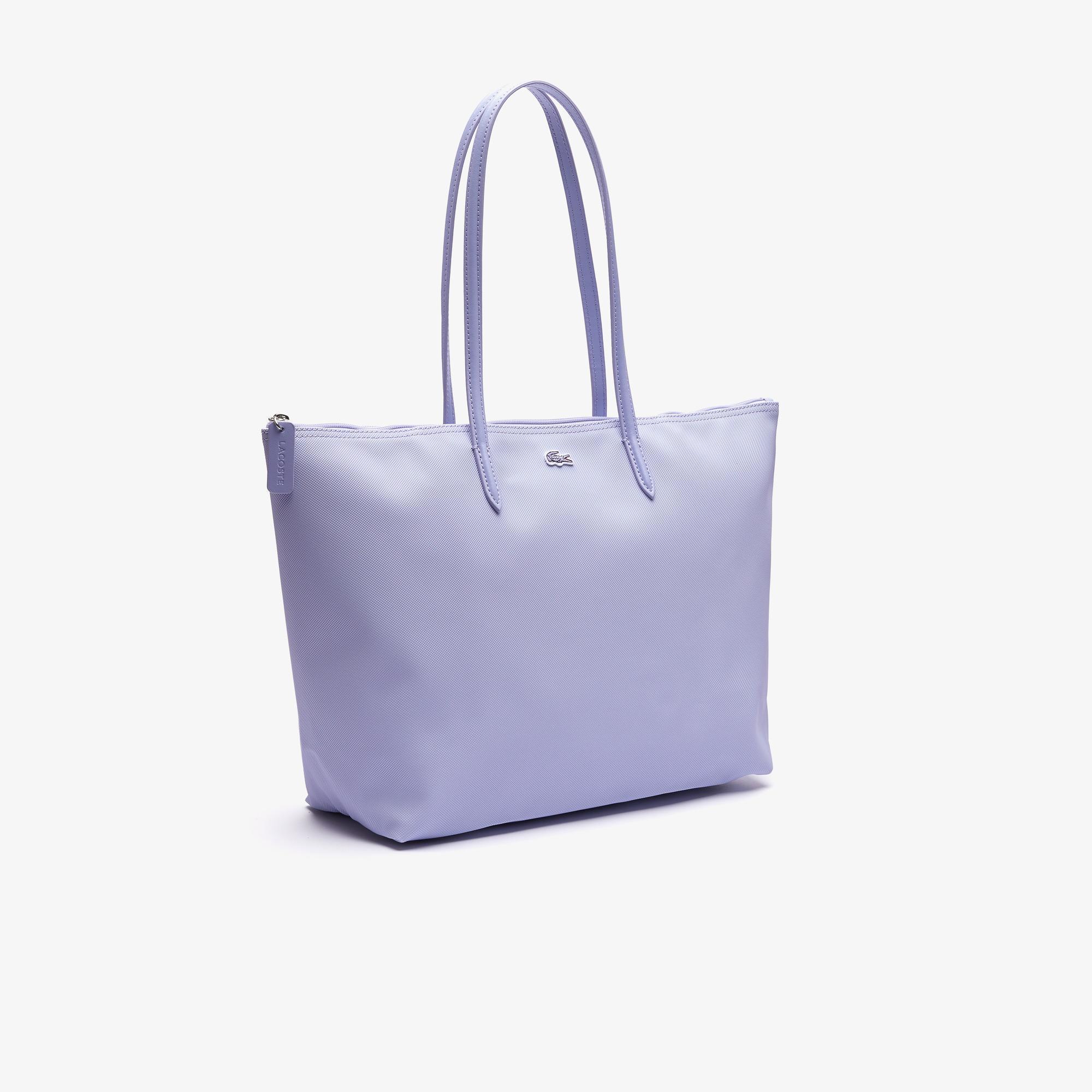 Lacoste Damska torebka tote bag z zamkiem błyskawicznym L.12.12