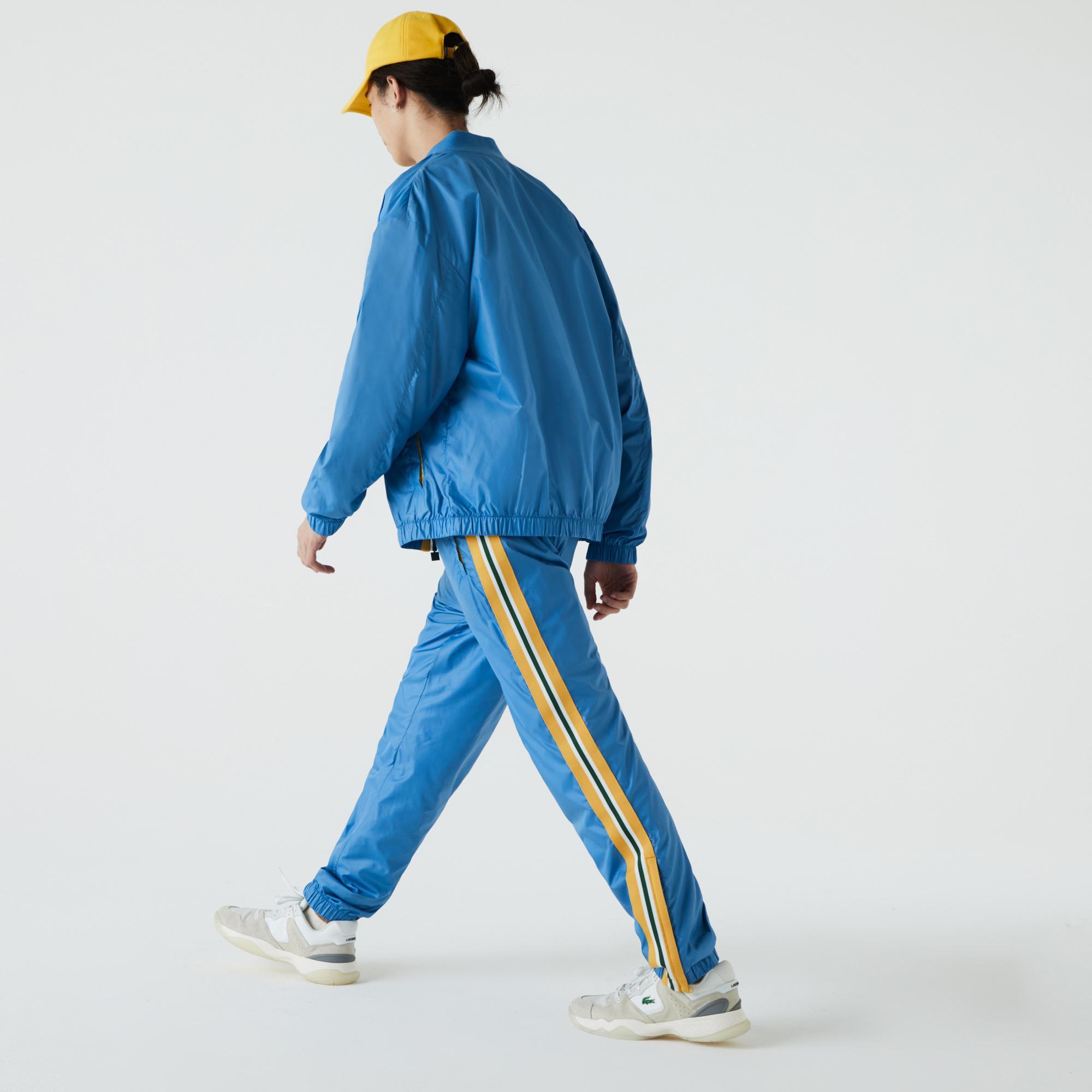 Lacoste Męskie tradycyjne przeciwdeszczowe spodnie dresowe
