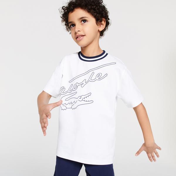 Lacoste T-shirt chłopięcy