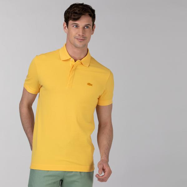 Lacoste Męska Koszulka Polo Z Elastycznej Bawełnianej Piki W Stylu Paryskim Regular Fit