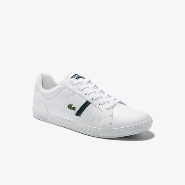 Lacoste Męskie skórzane sneakersy Europa