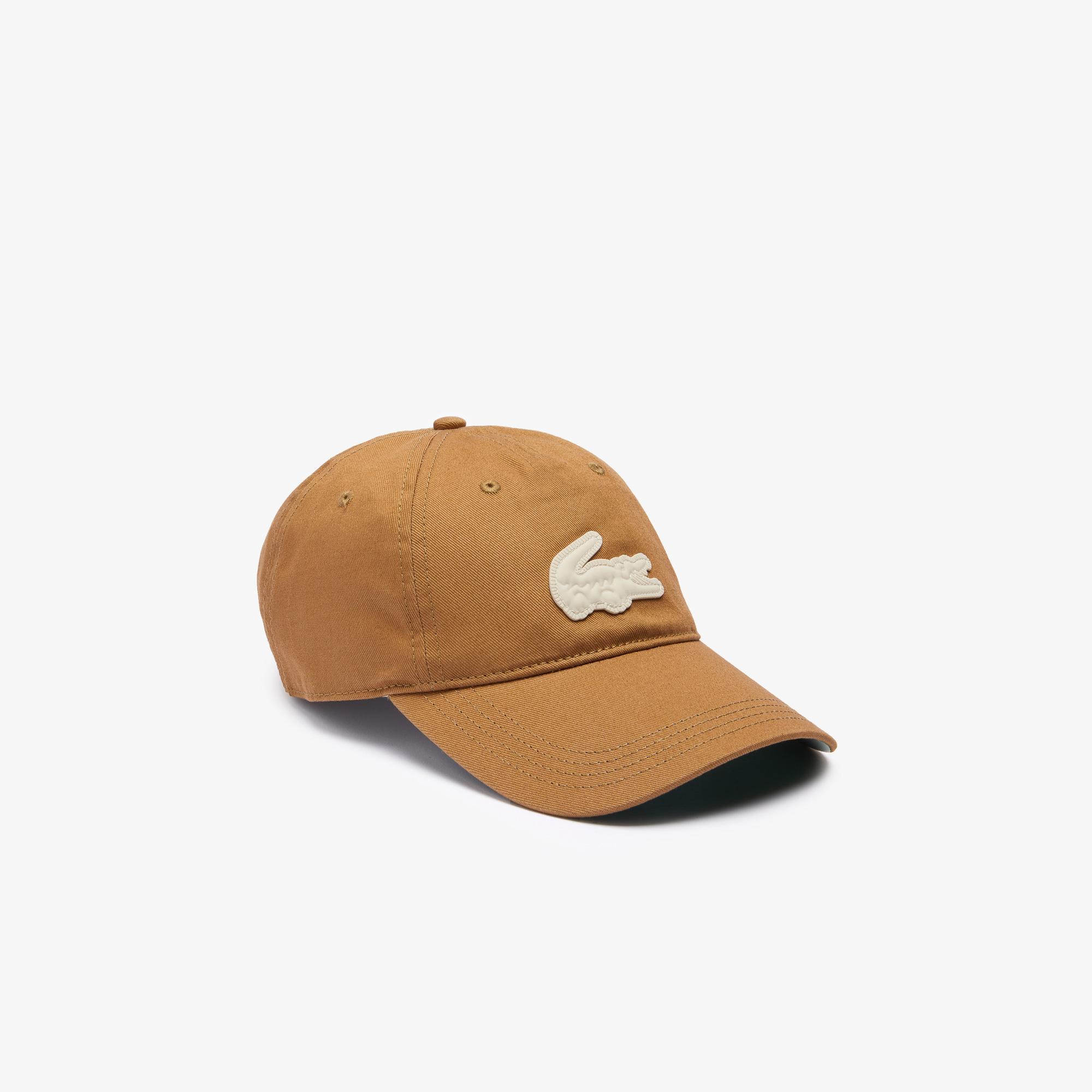 Lacoste L!ve Unisex Kahverengi Şapka