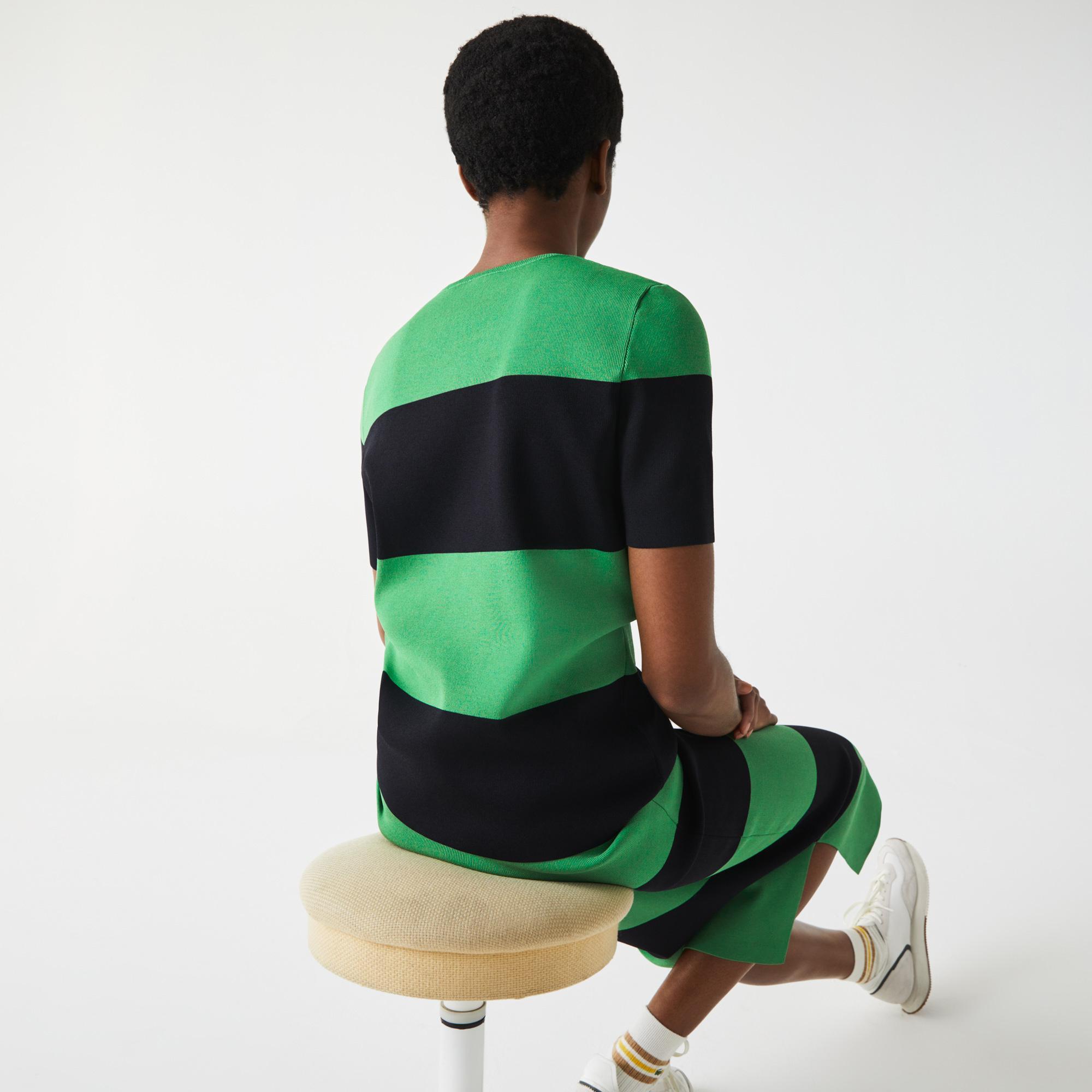 Lacoste L!VE Damski sweter w paski