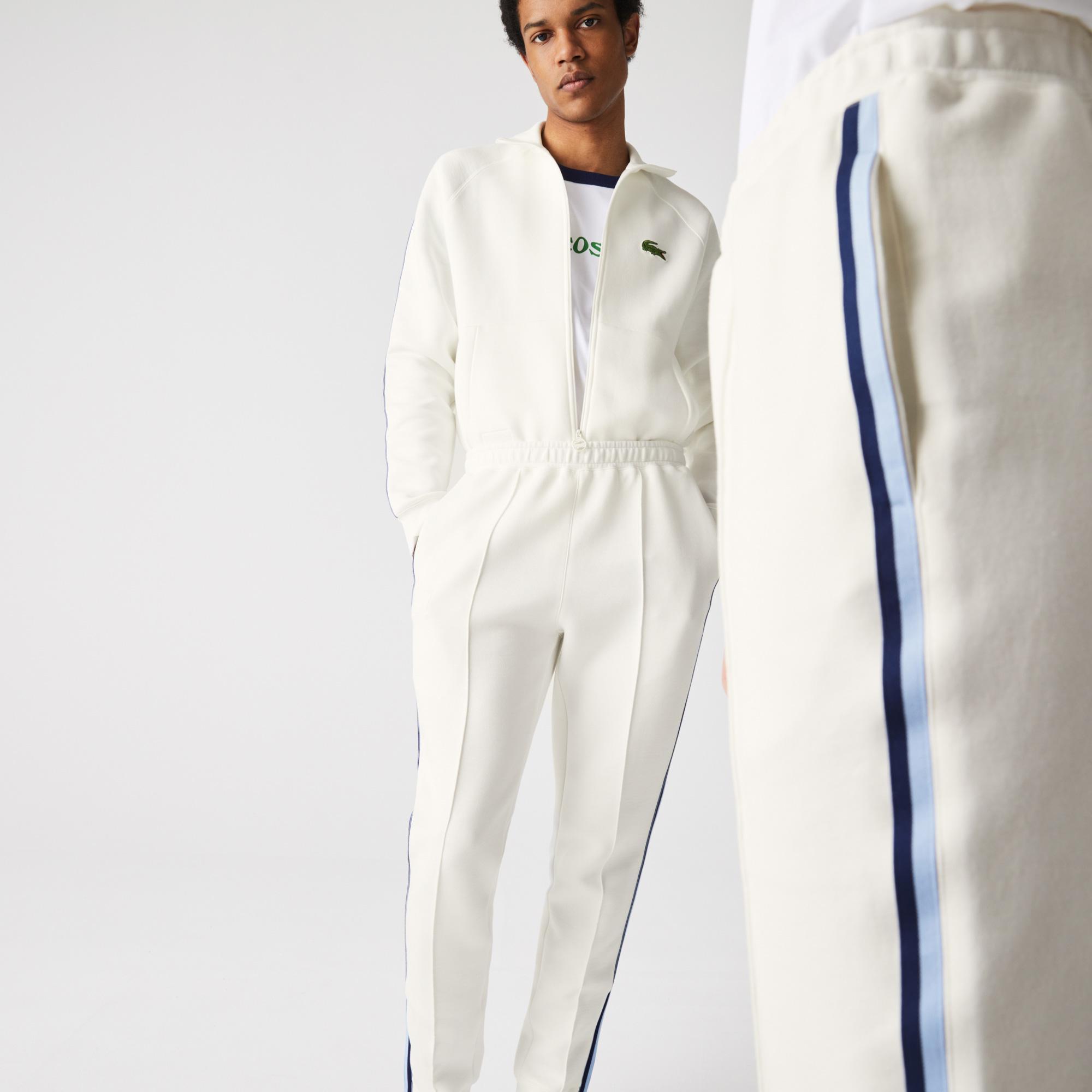 Lacoste Spodnie dresowe unisex z bawełny organicznej