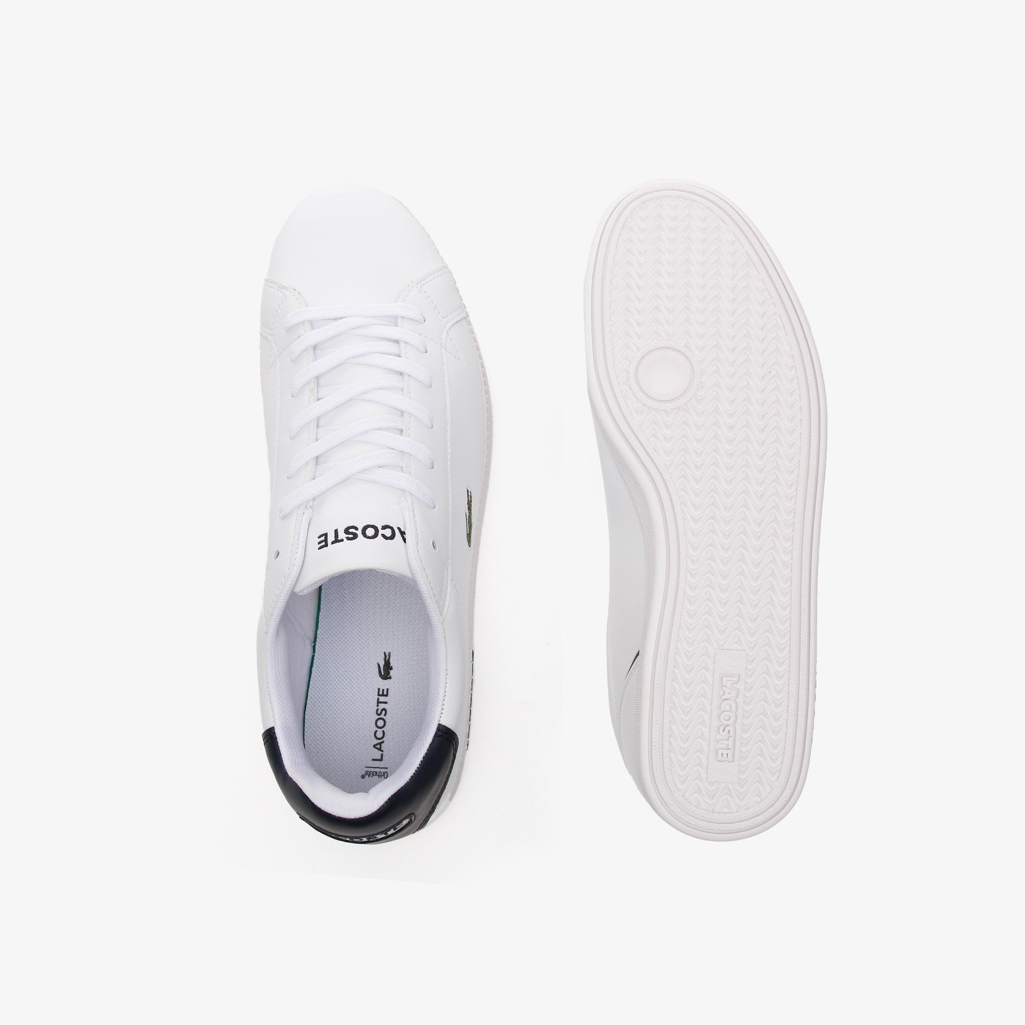 Lacoste Graduate Bl21 1 Sma Erkek Beyaz Sneaker