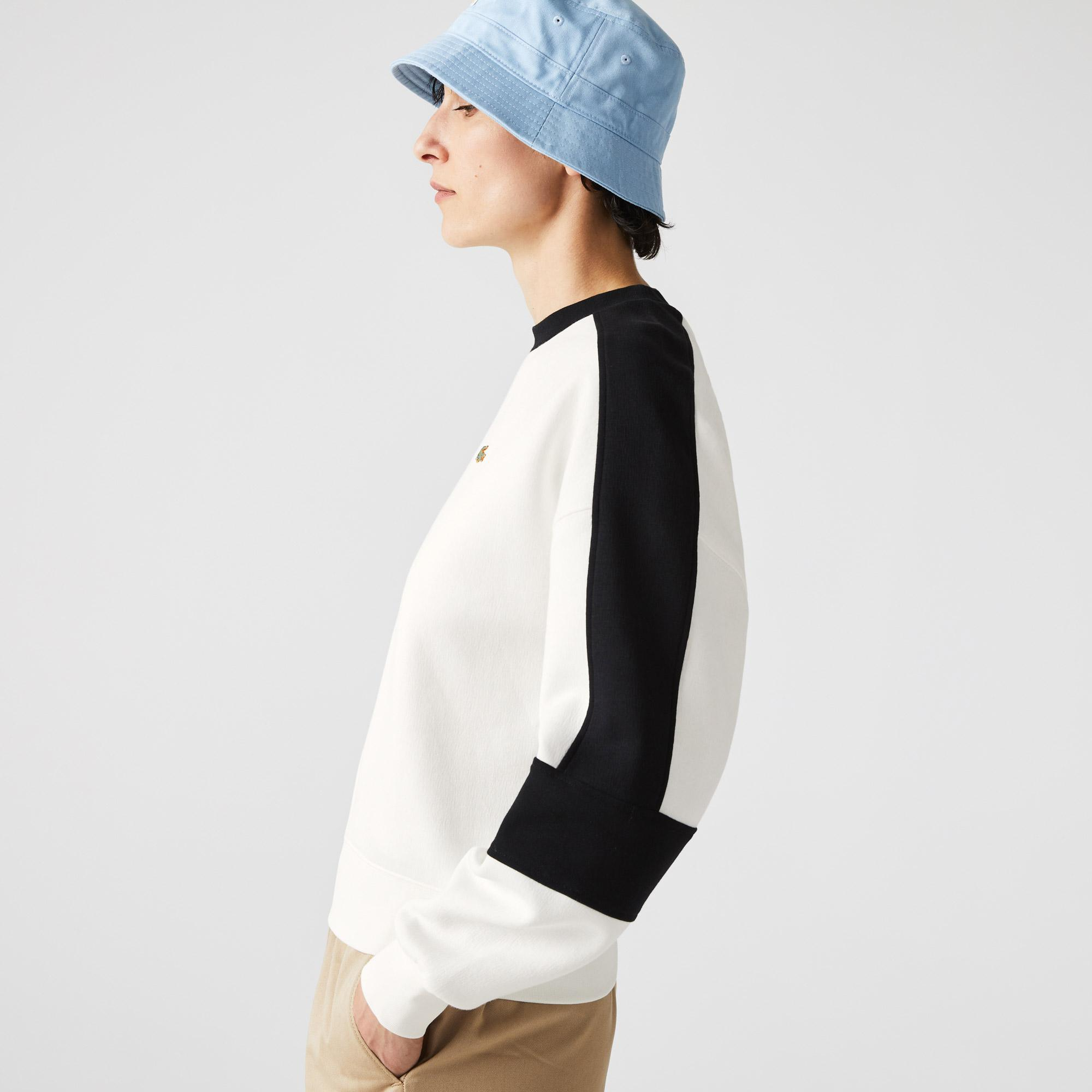 Lacoste L!VE Bluza damska z blokami graficznymi
