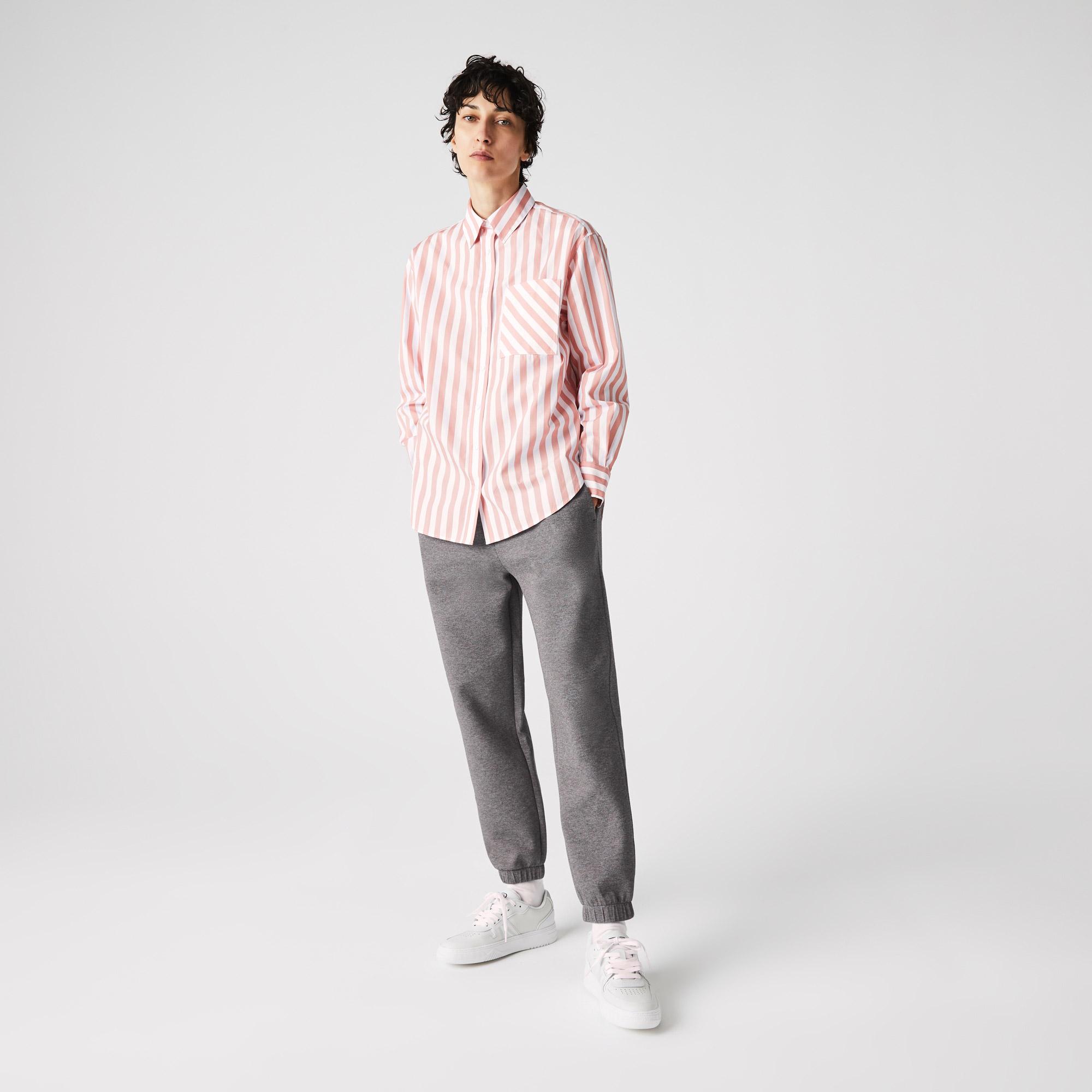 Lacoste Damskie spodnie sportowe z mieszanej bawełny