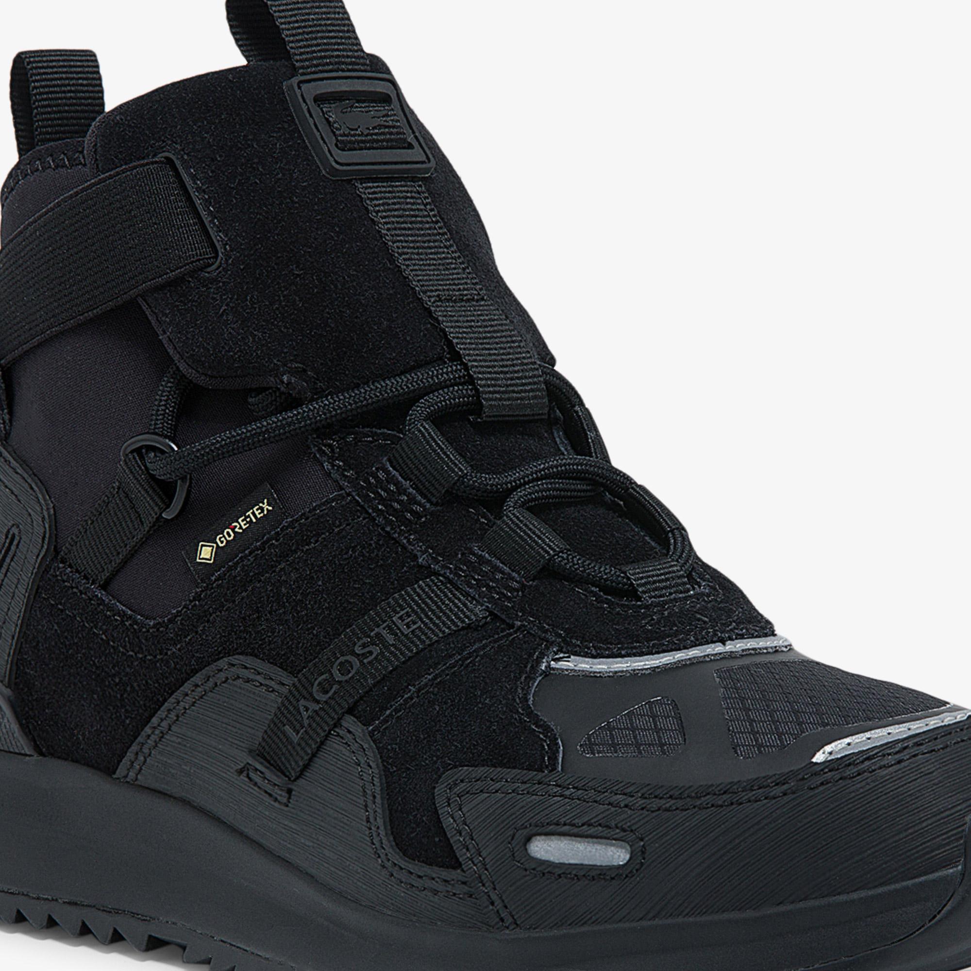 Lacoste Women's Run Breaker GTX Synthetic and Suede Sneakers