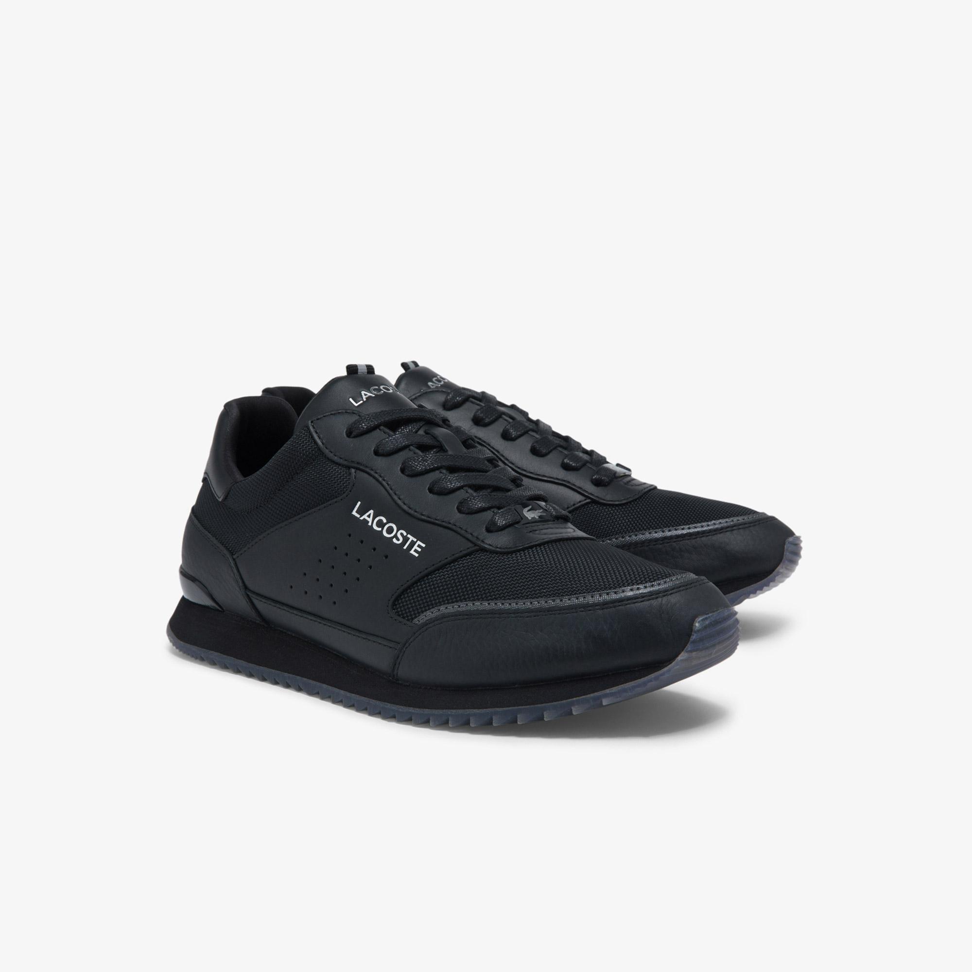 Lacoste Męskie sneakersy skórzane Partner Luxe