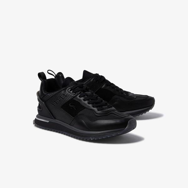 Lacoste Męskie sneakersy skórzane Court Break