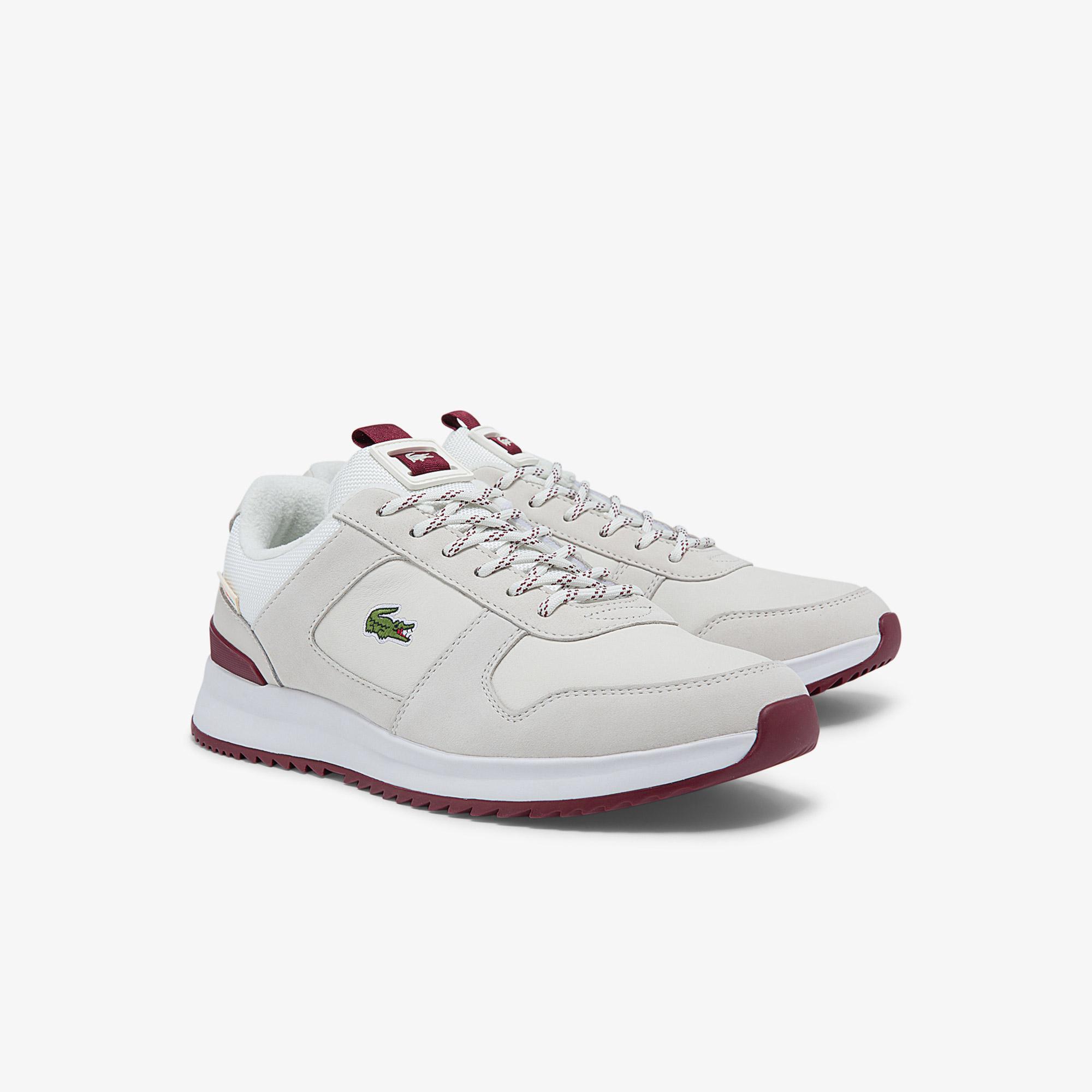 Lacoste Męskie sneakersy skórzane Joggeur 2.0