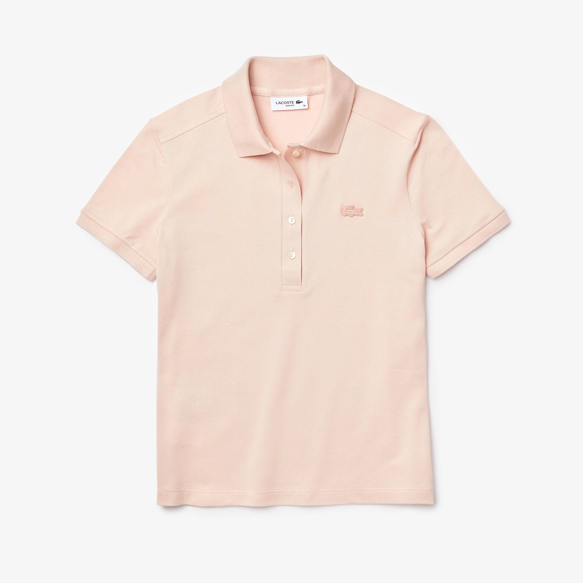 Lacoste Women's Stretch Cotton Piqué Polo