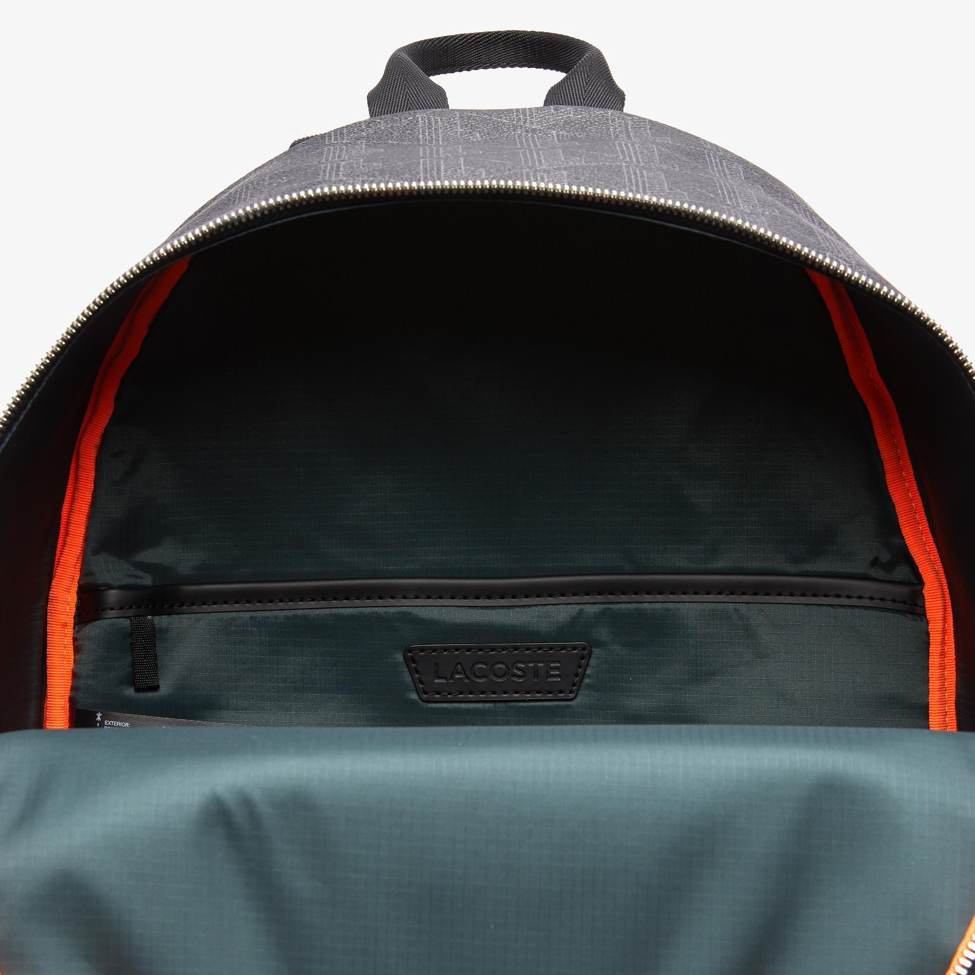 Lacoste Męski płócienny plecak z monogramem The Blend