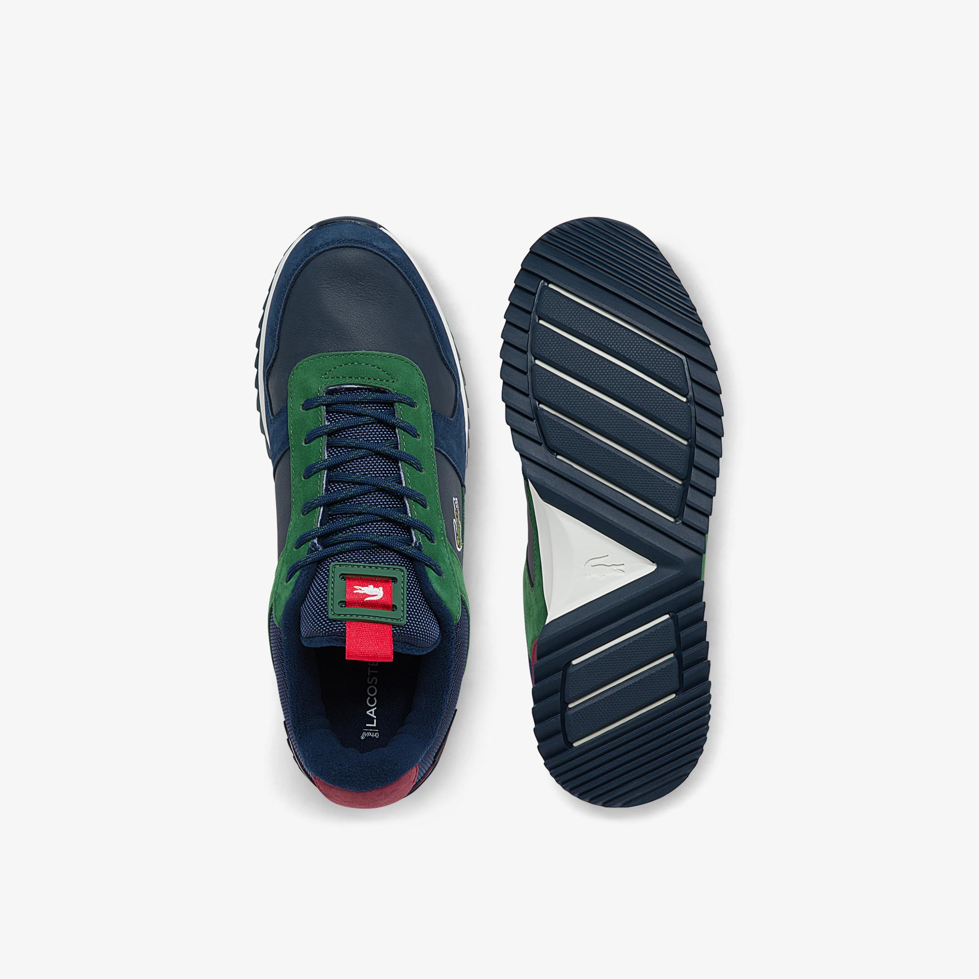 Lacoste Men's Joggeur 2.0 Leather and Textile Sneakers
