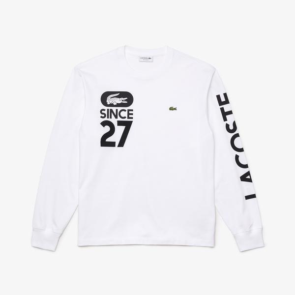 Lacoste Men's Print Cotton T-shirt