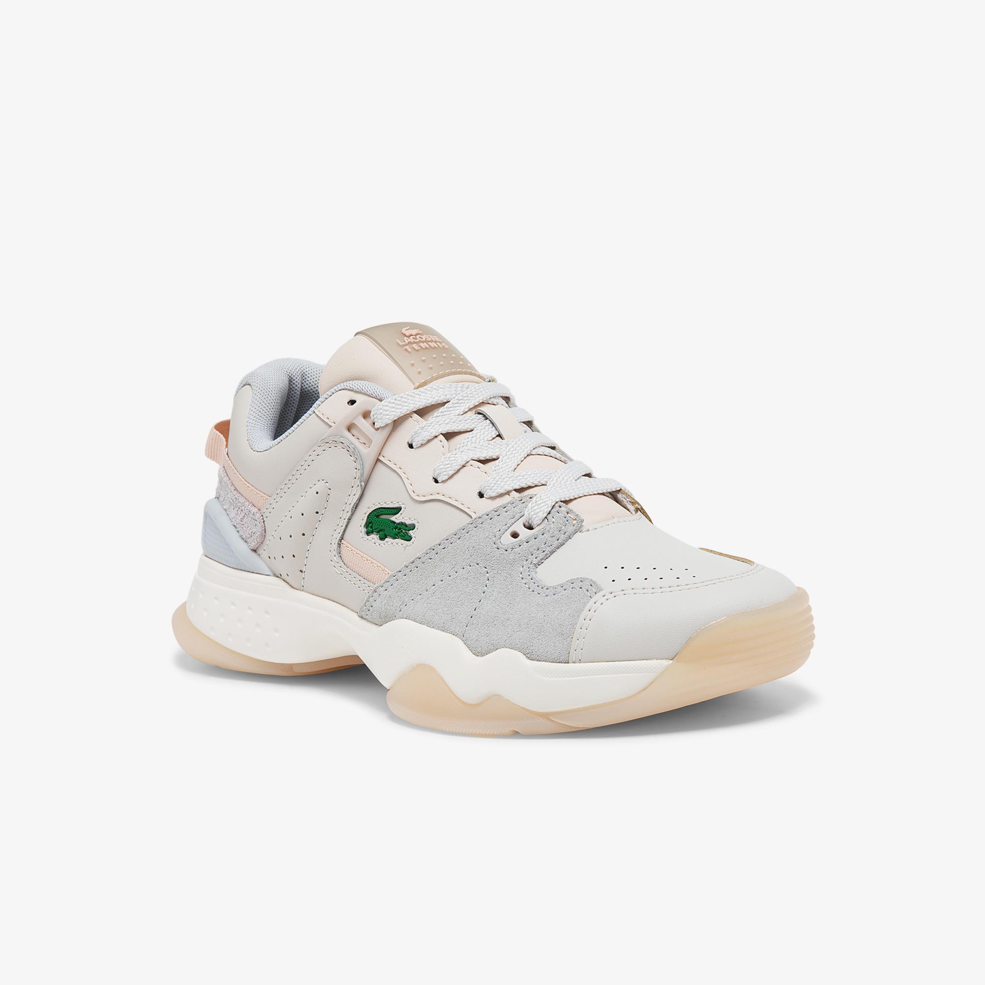 Lacoste Damskie sneakersy skórzane T-Point