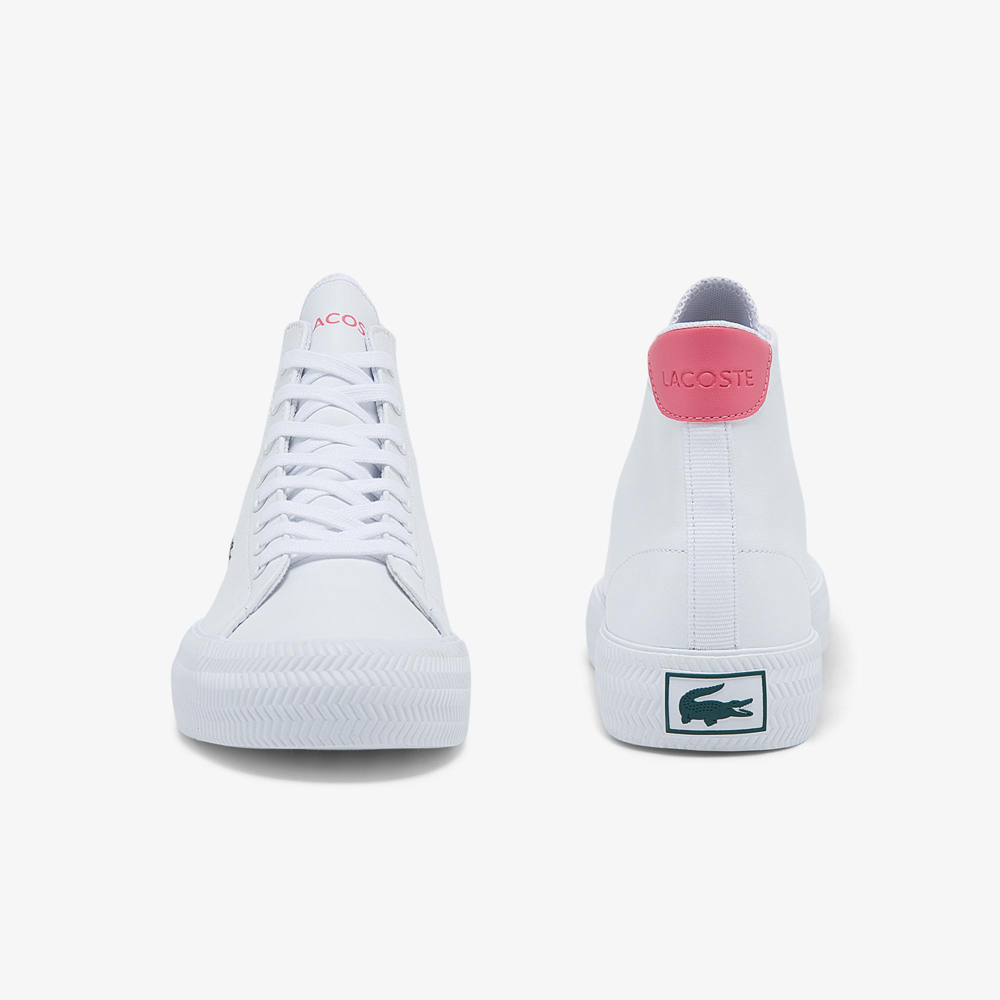 Lacoste Damskie skórzane sneakersy Gripshot Mid