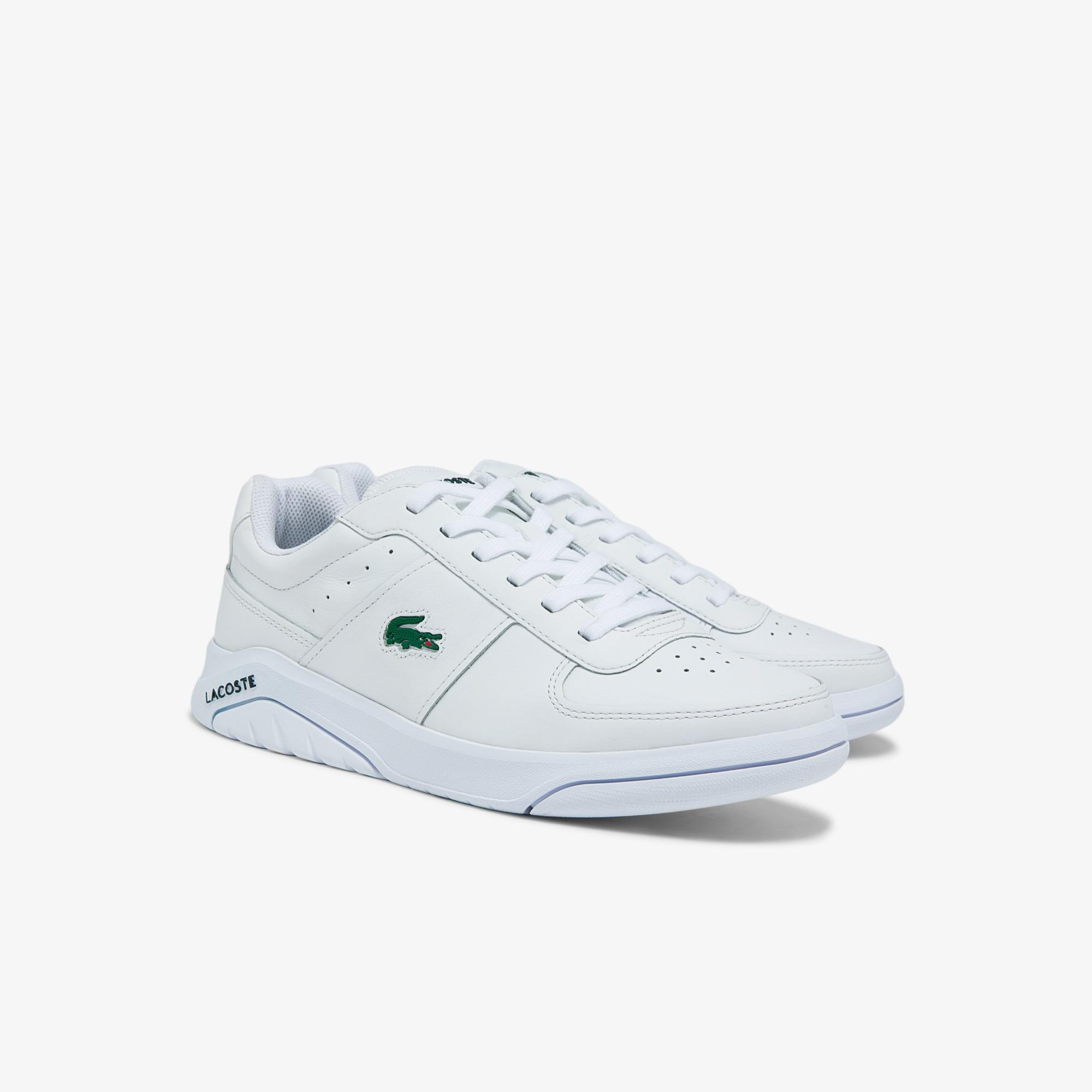 Lacoste Men's Game Advance Leather and Synthetic Tonal Sneakers