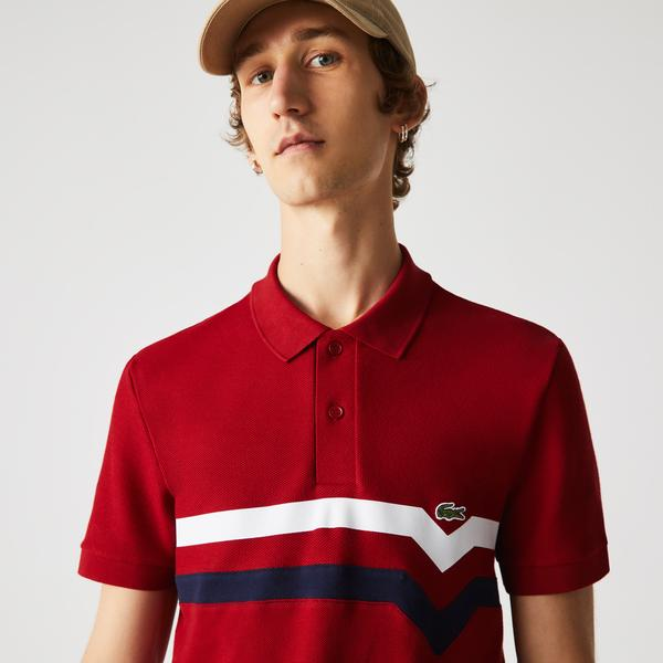 Lacoste Męska koszulka polo Regular Fit z bawełny organicznej, Made in France